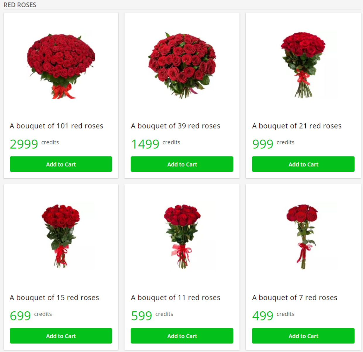 Flowers & gifts delivery