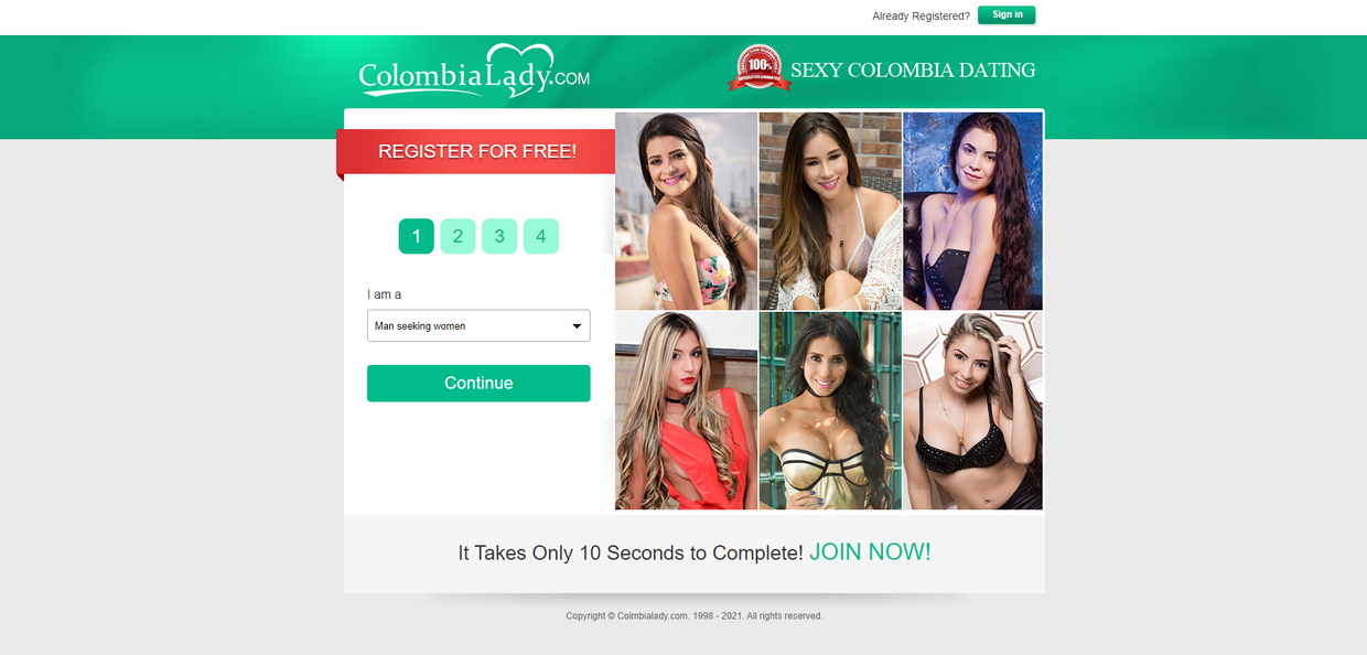 Colombialady Review